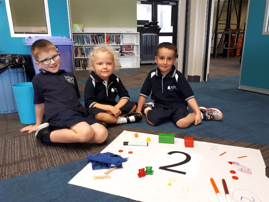 The preps have been learning about the number 2_2